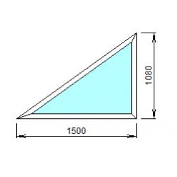 2-17: Окно из ПВХ 150х108 см