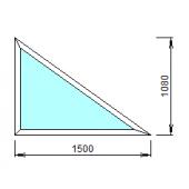 2-18: Окно из ПВХ 150х108 см